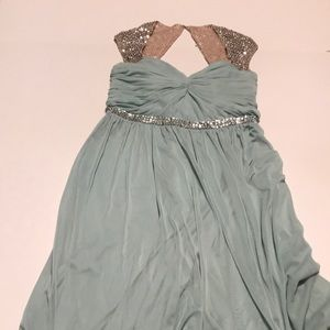 Adrianna papell size 6 elsa gown
